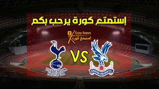 تاريخ مواجهات توتنهام وكريستال بالاس | Tottenham vs Crystal Palace