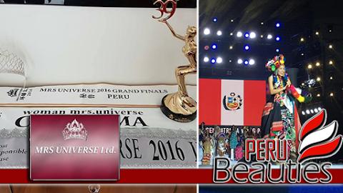 MRS UNIVERSE 2016 | Perú es segunda finalista