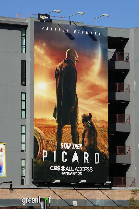 Star Trek Picard season 1 billboard