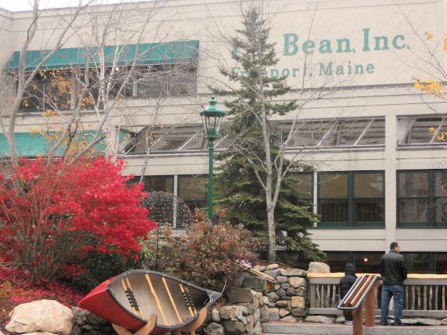 LL Bean's flagship store