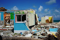 Wrecked houses in the Bahamas after Hurricane Dorian struck.  (Image Credit: @NationalGeographic) Click to Enlarge.