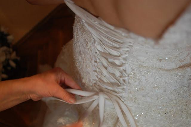 Mi boda ortodoxa serbia, vestido de novia