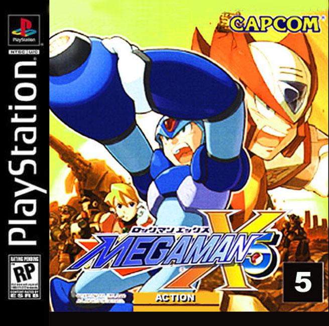 Megaman x4 psp