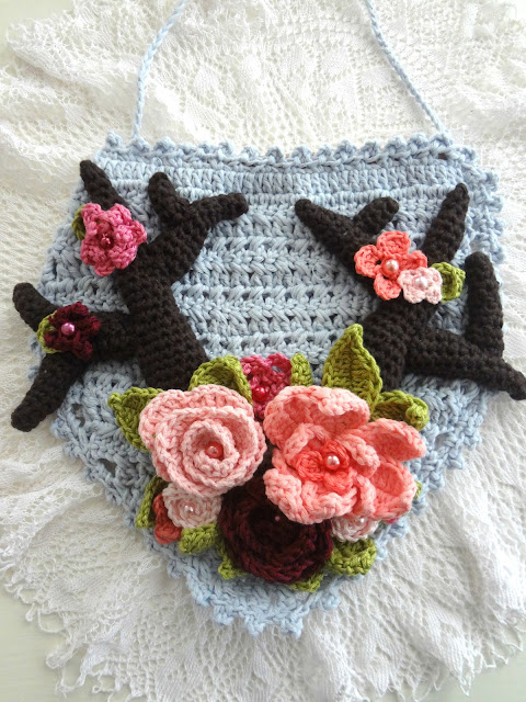 Boho Antlers Wall Hanging – crochet pattern