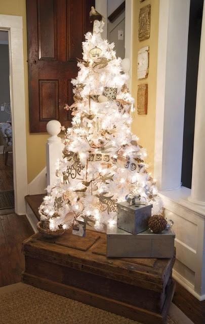 Decoração de natal estilo vintage