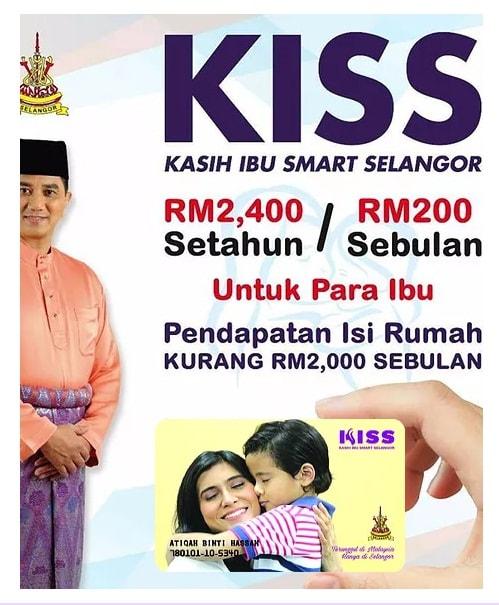 Kad KISS - Kasih Ibu Smart Selangor | Syarat Kelayakan & Cara Mendaftar
