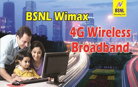 BSNL slashes monthly rental of Unlimited WiMax Broadband plan from Rs 825 to Rs 750 with effect from 1st June 2017 in Kerala Circle only