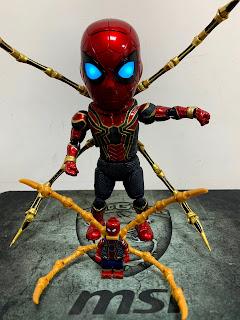 EGG ATTACK ACTION  EAA-060DX 復仇者聯盟 : 無限之戰 鋼鐵蜘蛛人 本體