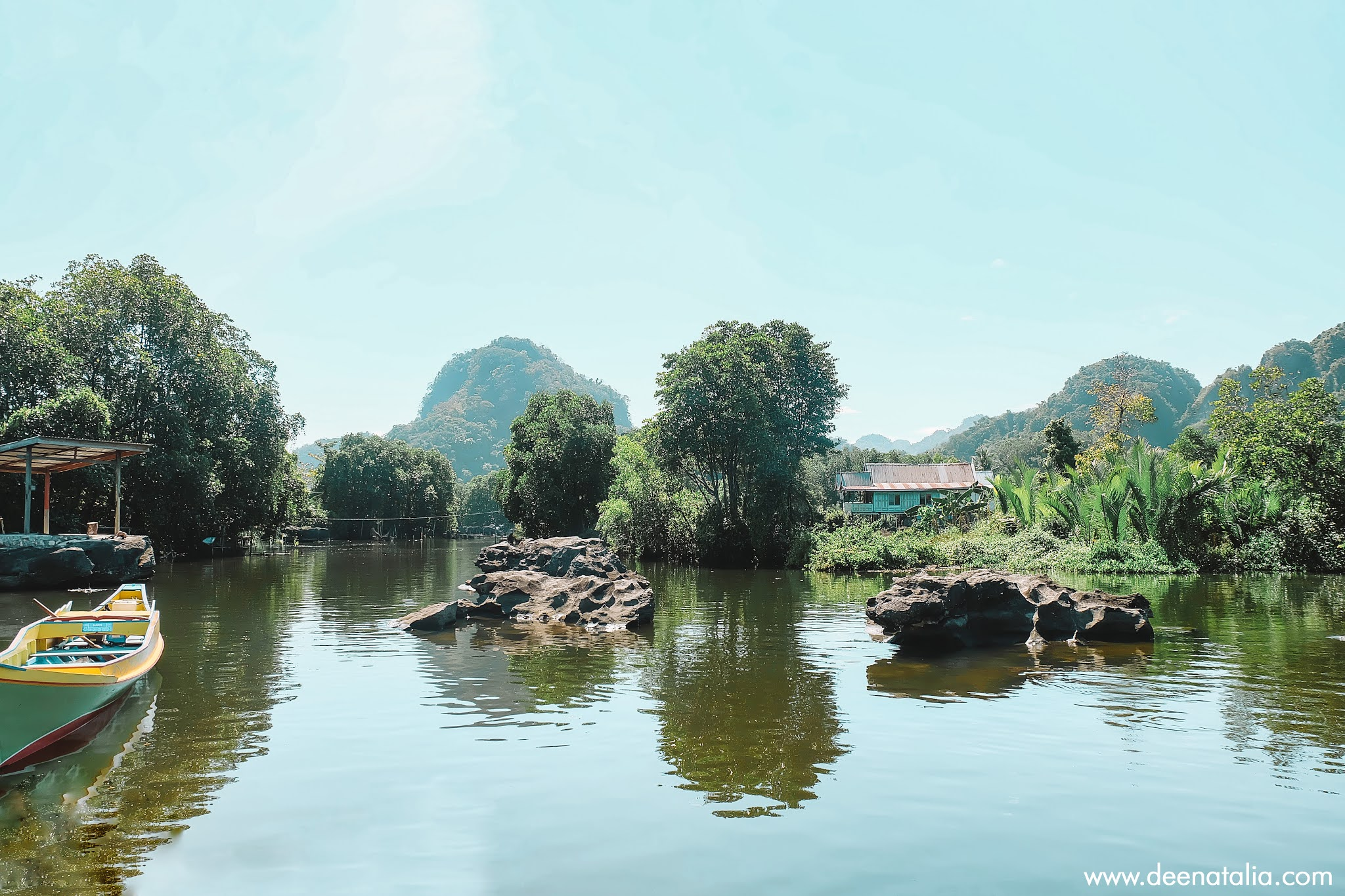 Sungai Puthe Rammang-Rammang