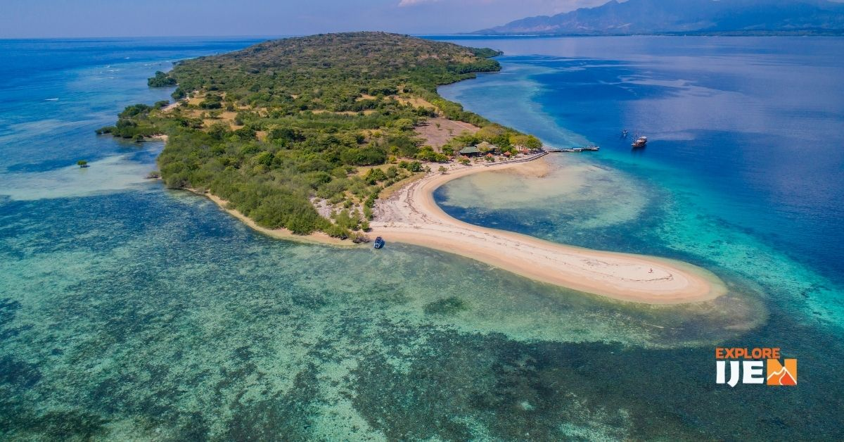 pulau menjangan, pulau surga di Bali Barat