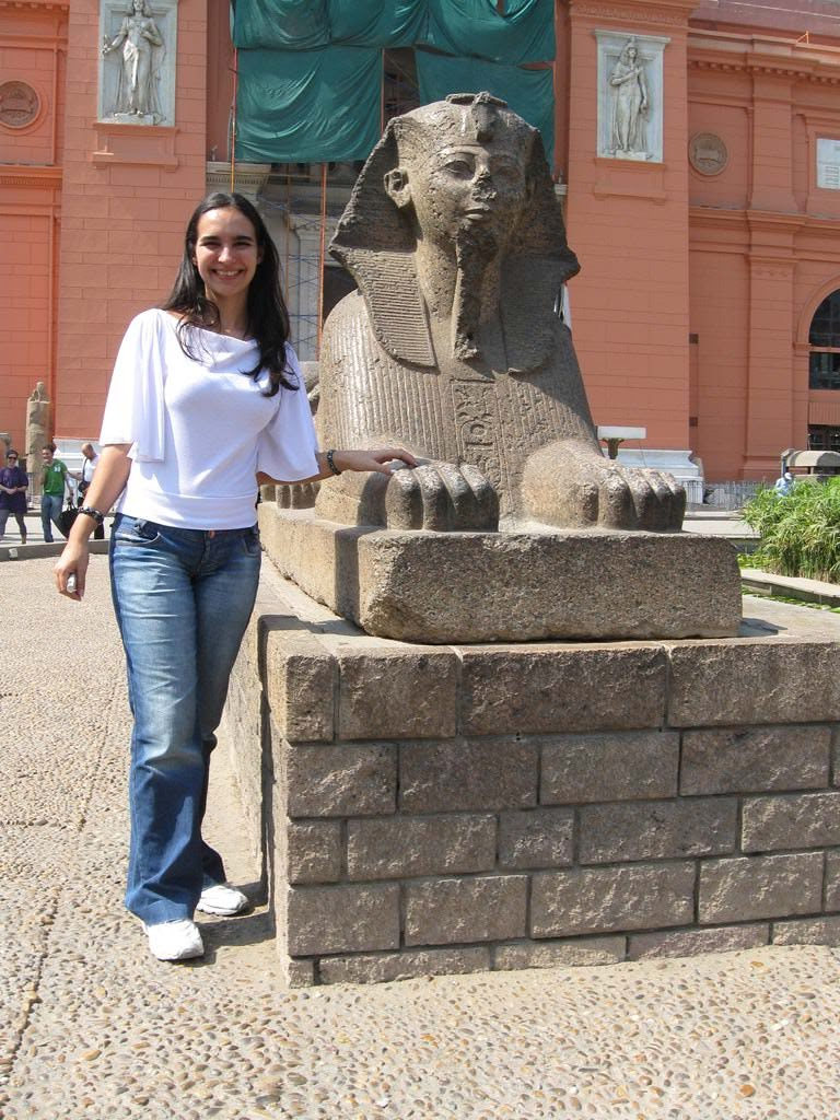 Museu do Cairo no Egito