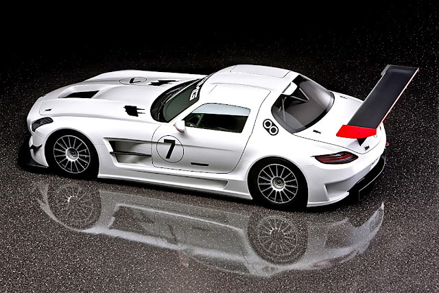 Mercedes Sls Gt Race Car