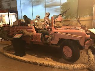 An SAS Pink Panther Landrover