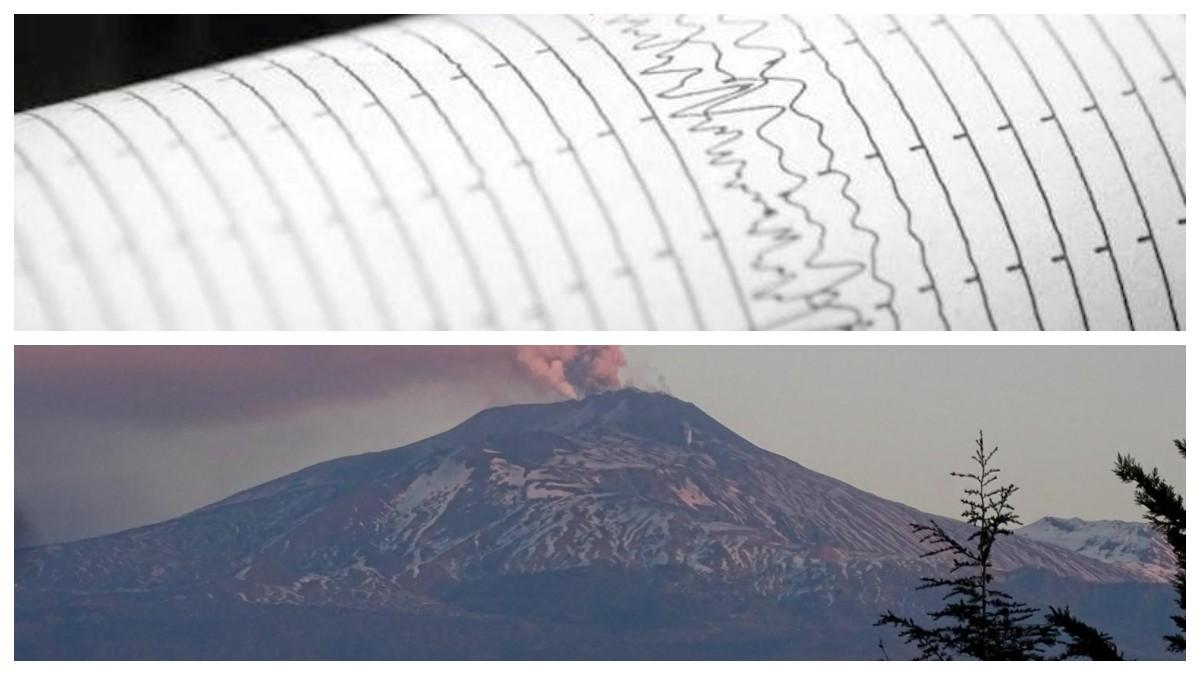 Terremoto ieri sull'Etna