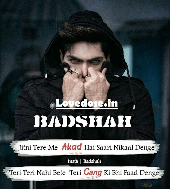 attitude whatsapp status for boys
