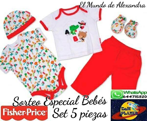set primera puesta Fisher Price
