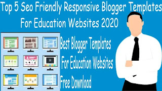 Top 5 Free Blogger Templates for Education Websites And Blog | Technical MMUB