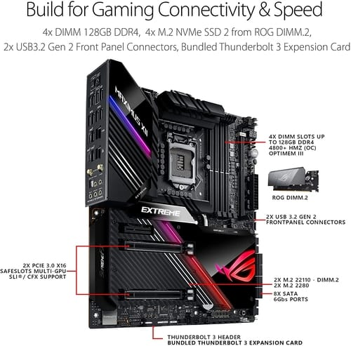 Review ASUS ROG Maximus XII Extreme Z490 Motherboard
