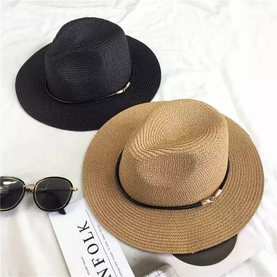 chapéu panamá praia