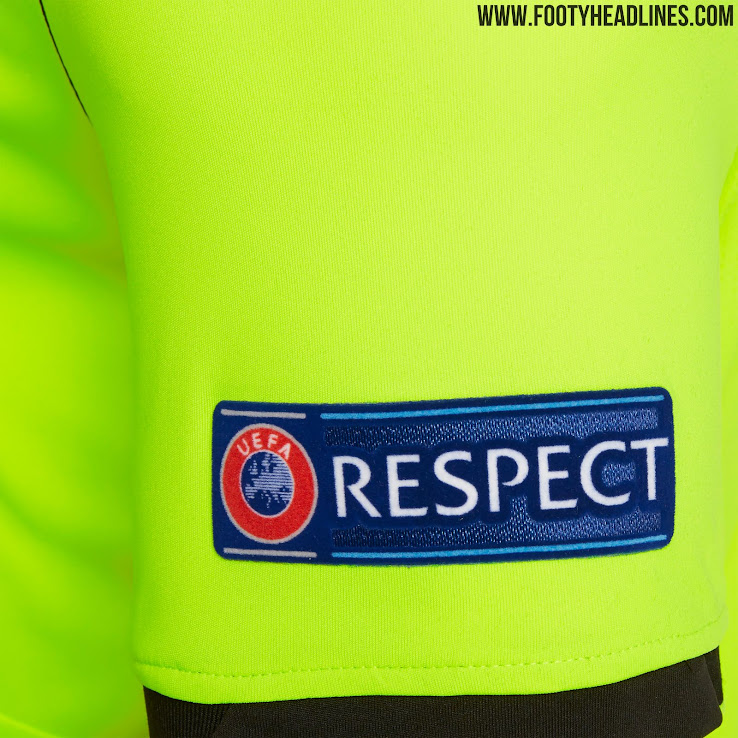 No More Adidas Macron Uefa Champions League 19 20 Referee Kits Released Debut In El Cl Finals Footy Headlines