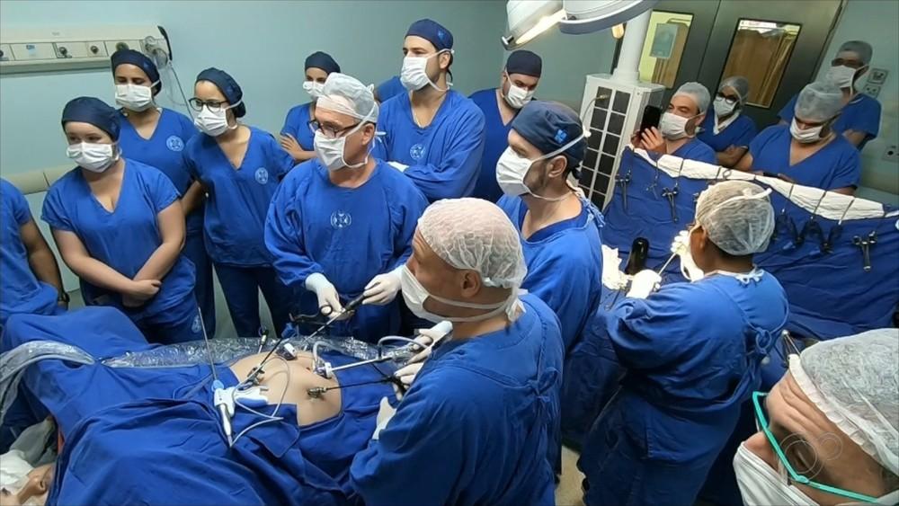 Médicos fazem cirurgia inédita contra a obesidade em Rio Preto