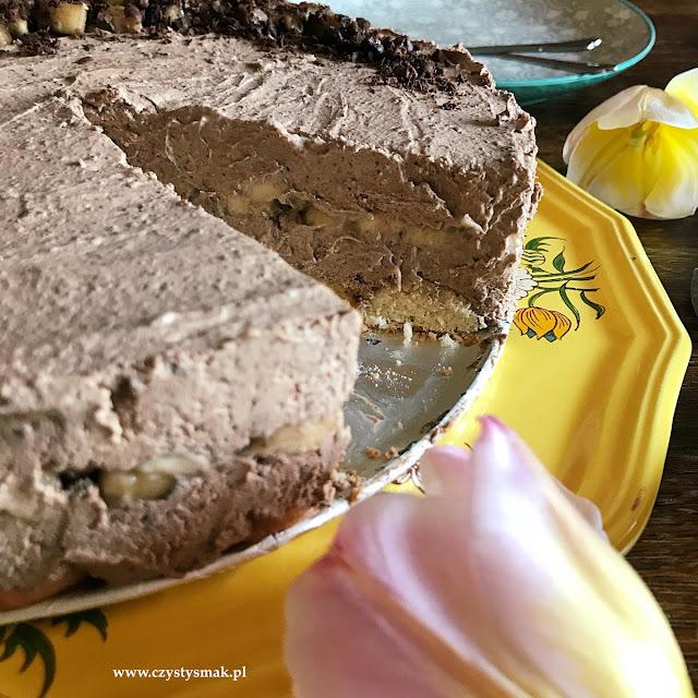 Torcik czekoladowy bez cukru