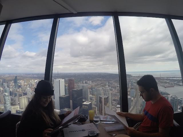 Restaurante 360 na CN Tower em Toronto