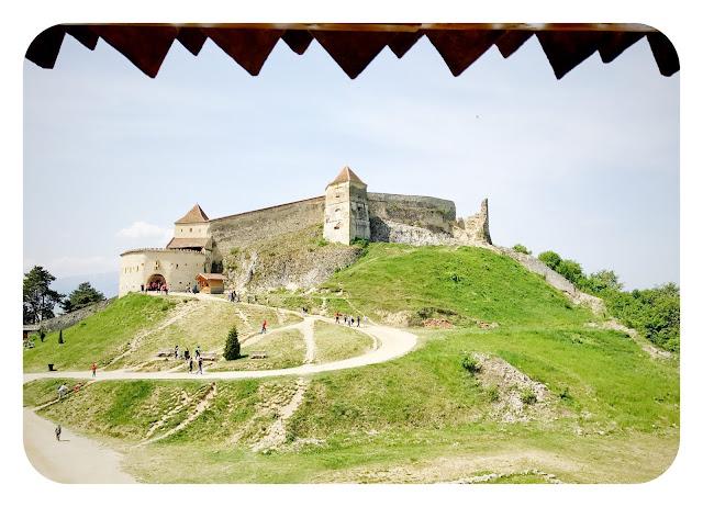 Fortaleza en Rasnov, Transilvania