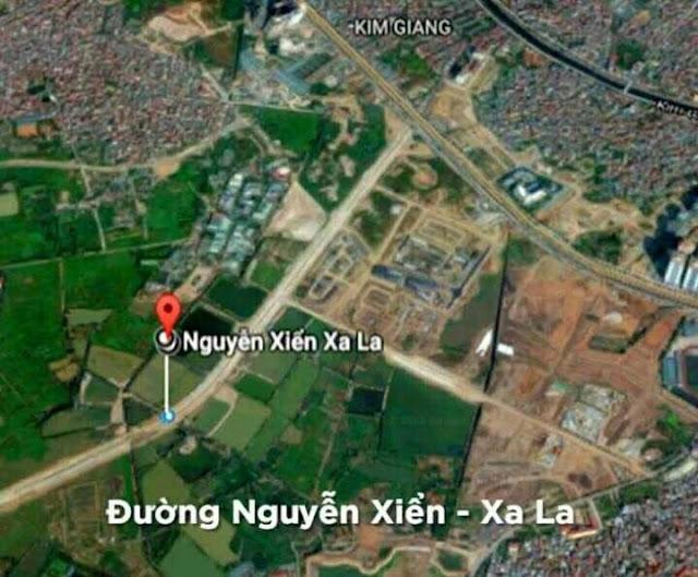 Tuyến đường Nguyễn Xiển nối sang Xala Hà đông hoàn thành cuối năm 2017