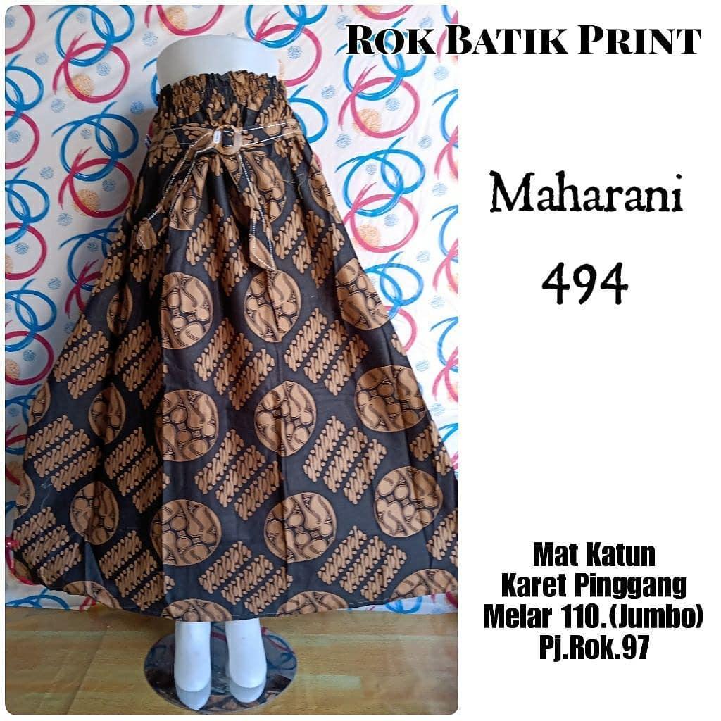 Model Rok Batik Terbaik 2020 Desain Mewah Dan Modern ...