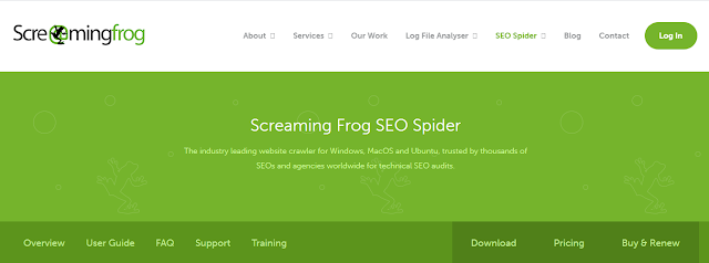 Screaming frog is especially SEO minded they examining URLs for more common SEO issues