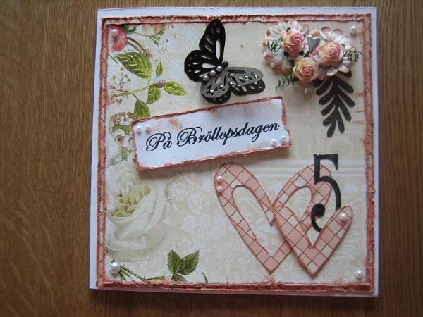 år bröllop Evas pysselhörna: 5 årig bröllopsdag! år bröllop