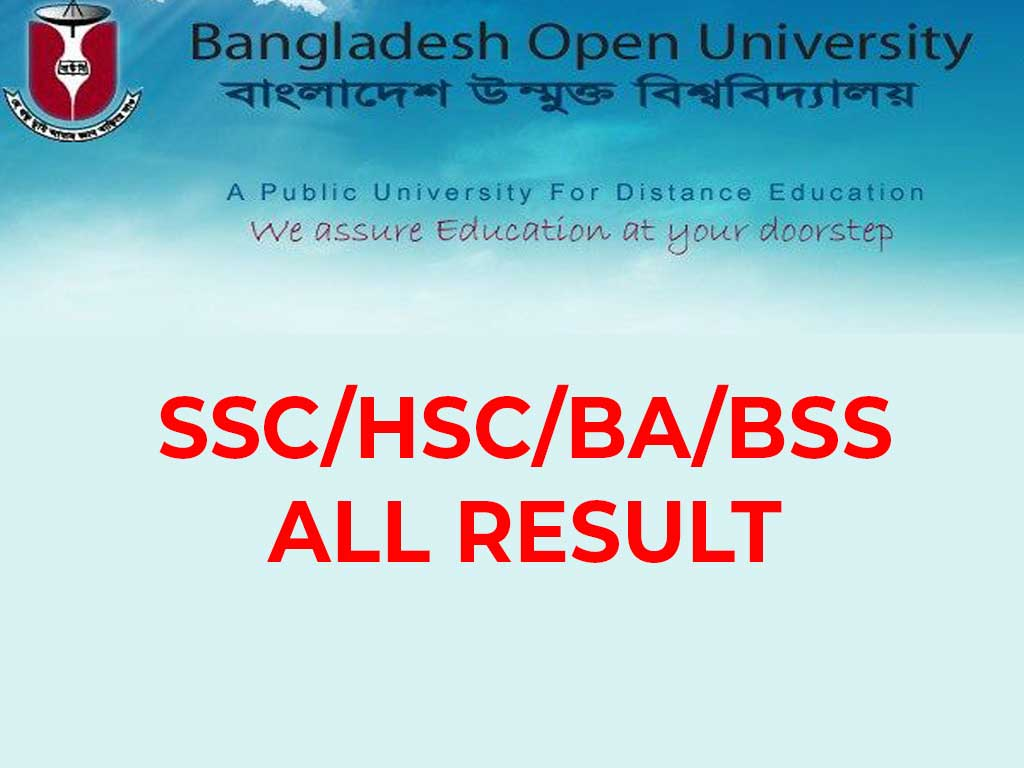 Bangladesh Open University BA/BSS Result 2019 | BD RESULTS 360
