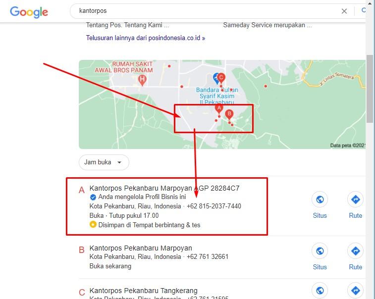 Cara Mencari Alamat Kantorpos Terdekat Di Kota Anda Www Infokantorpos Com