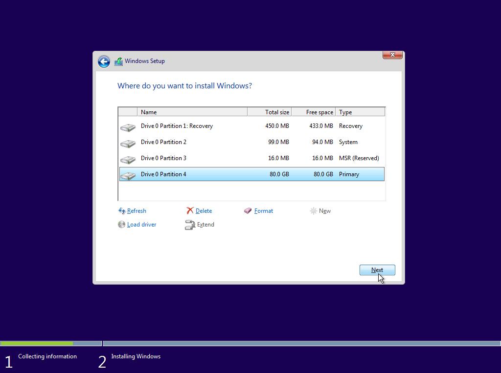 Cách kết hợp tạo bản Windows 10 64 Bit với tất cả ba định dạng ISO, TIB và GHO