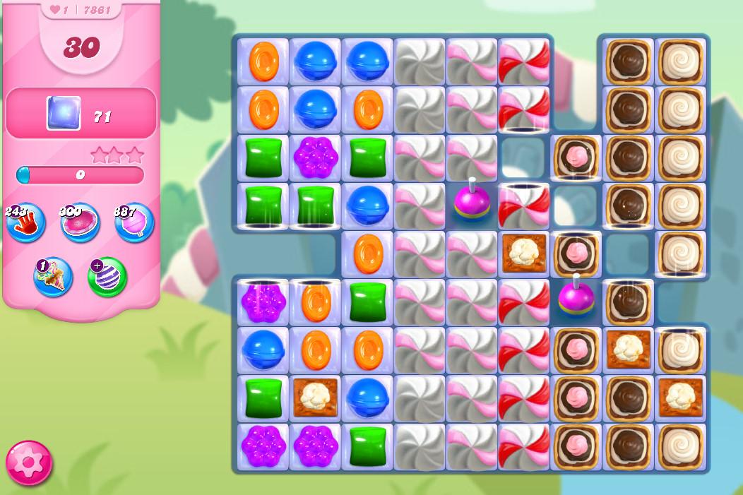 Candy Crush Saga level 7861