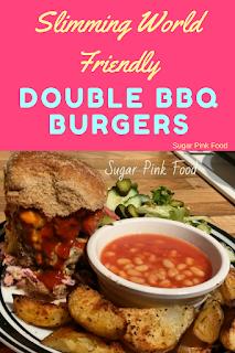 double bbq burgers slimming world recipe