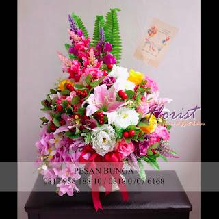 jual bunga meja untuk pembukaan toko baru, florist jakarta, toko bunga dijakarta utara, flowers advisor, madame florist, toko bunga meja, jual bunga meja murah,