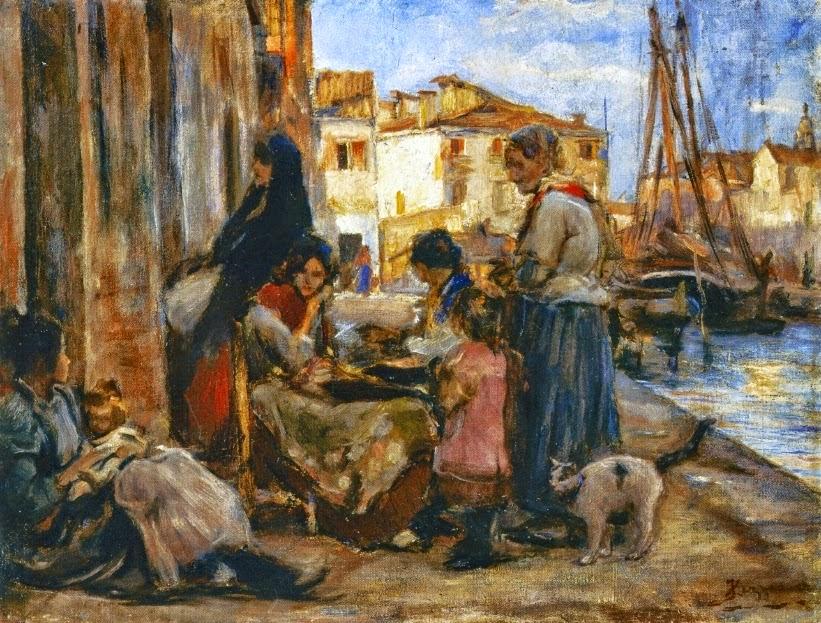Alessandro Zezzos | Italian Genre painter