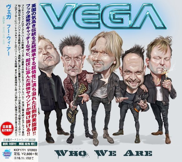 VEGA - Who We Are [Japan Edition +1] (2016) full