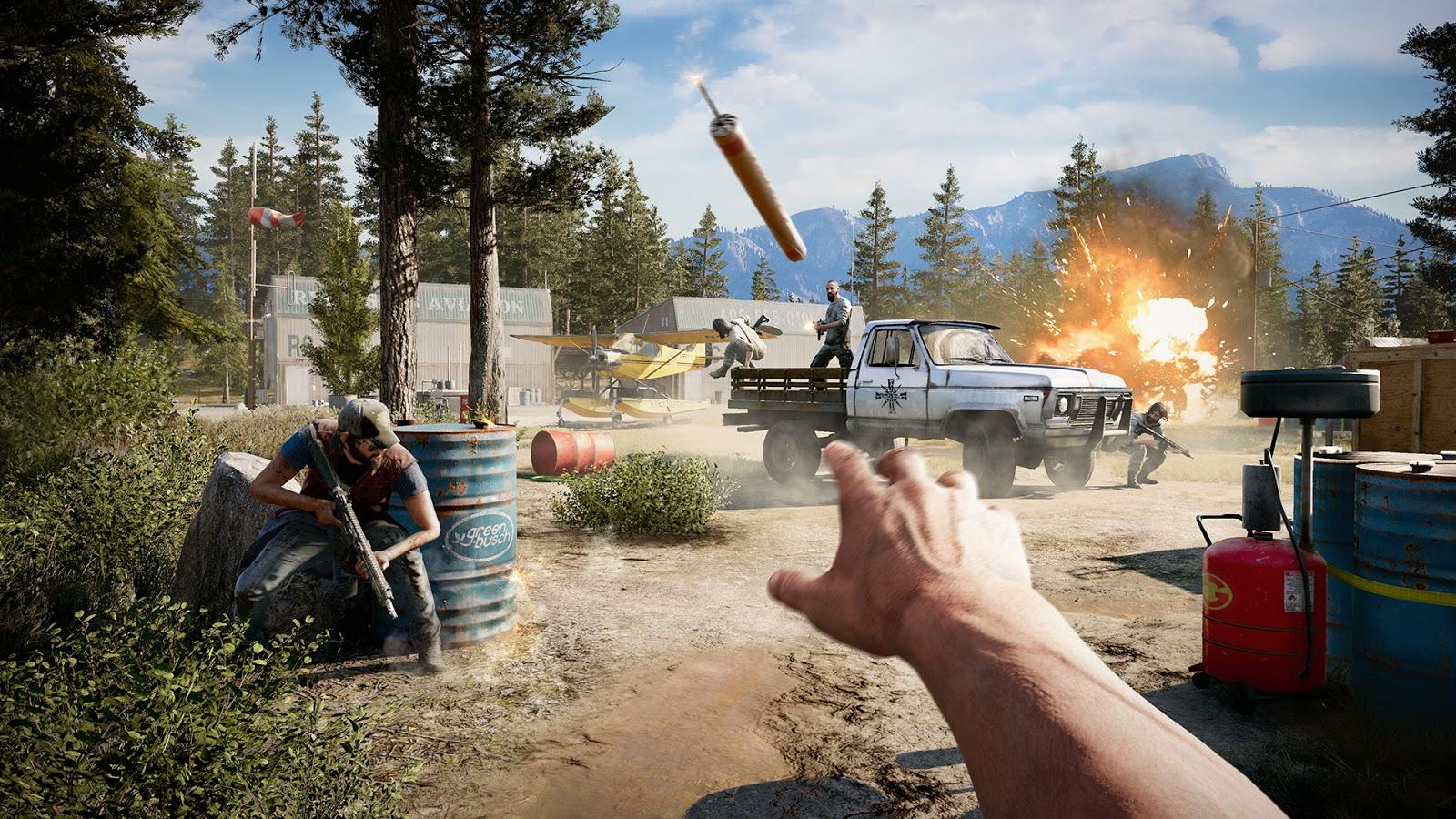 Far Cry 5 Dead Living Zombies PC ESPAÑOL (CODEX) 1