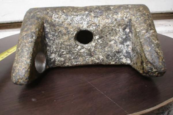 The Aluminum Heel, un extraño artefacto de aproximadamente 250 mil años de antigüedad y hecho de aluminio, un metal que recién fue descubierto en 1827.