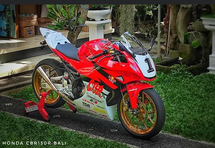 Modifikasi Honda Cbr 150r Pakai Full Fairing Buta Satupiston Com Blog Motor Indonesia