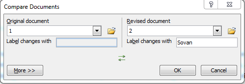 add document for compare