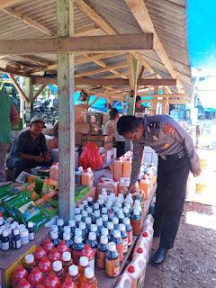 Berikan Rasa Aman, Jajaran Polsek Bengkunat Melakukan Patroli Dialogis Dan Pengamanan