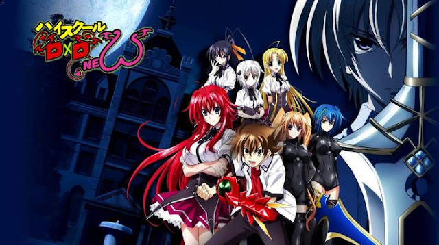Highschool DxD - Anime Action Romance Harem Terbaik
