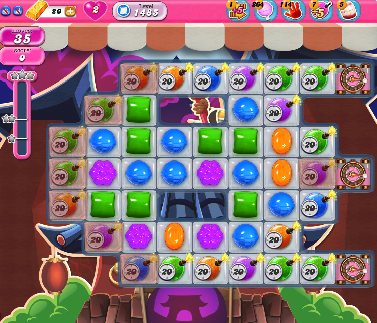Candy Crush Saga 1485