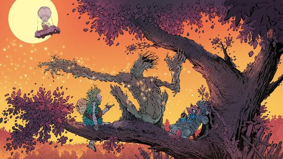 Fortnite Groot Chapter 2 Season 4 Loading Screen 4k Wallpaper 7 2534
