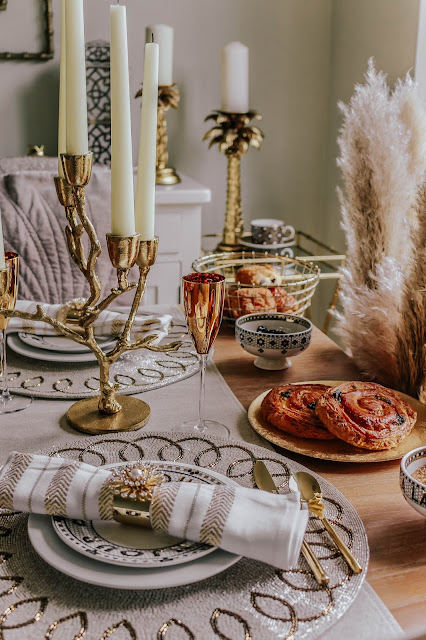 Joanna Buchanan Holiday Decor Luxury Table Setting