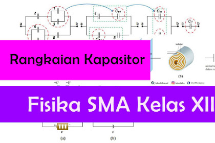 Konsep dan Contoh Soal Rangkaian Kapasitor dan Jenis-Jenis Kapasitor - Fisika SMA Kelas 12